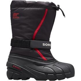 Sorel Flurry Boots Kids black/bright red